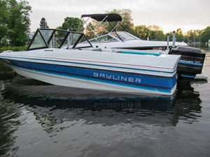 The '88 Bayliner. God rest her soul.