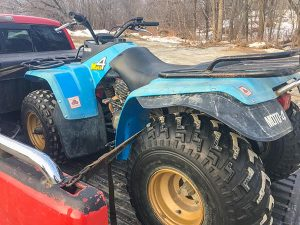 Update #4: New ATV, plus: Scuba Gear, Stolen iPhones, and Vintage Tractors